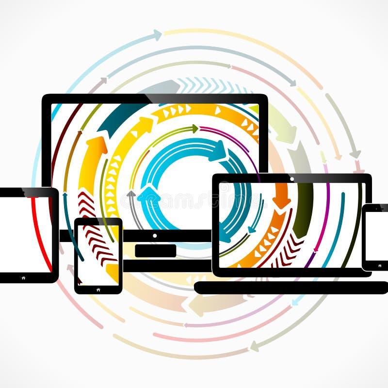 Веб-дизайн бесплатная иллюстрация