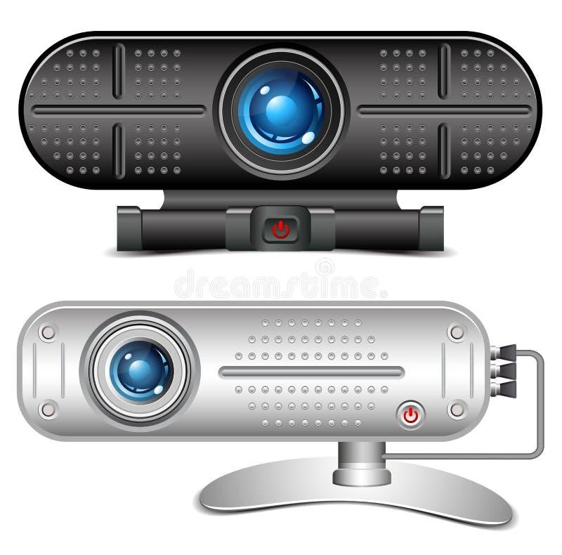 Веб-камера иллюстрация штока