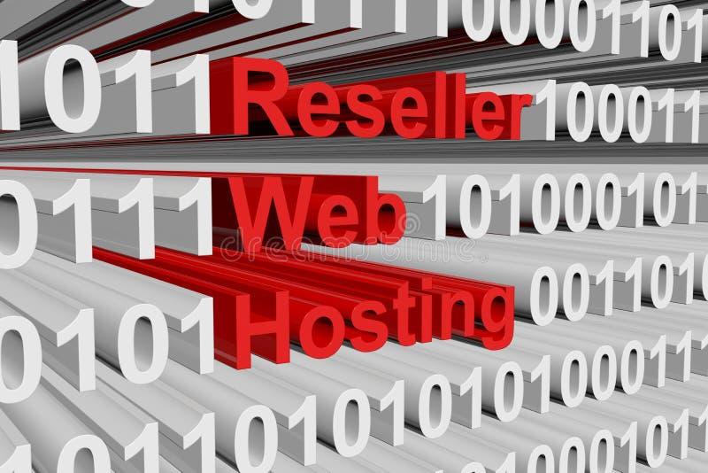 Веб - хостинг промежуточного продавца бесплатная иллюстрация