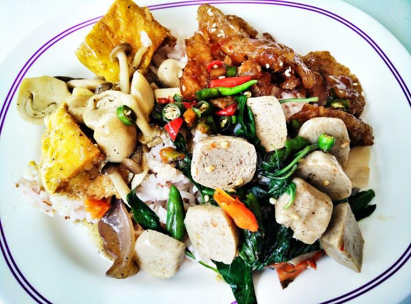 Вегетарианская еда стоковая фотография rf