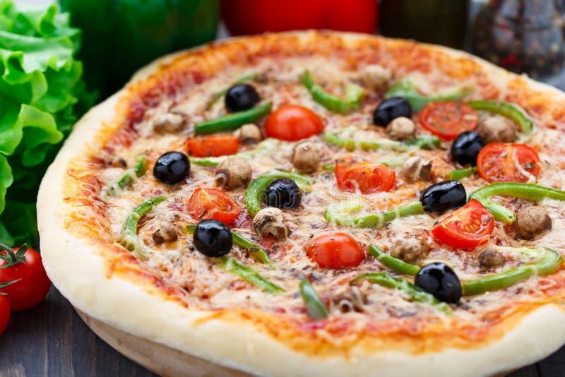 Вегетарианская пицца стоковые фото