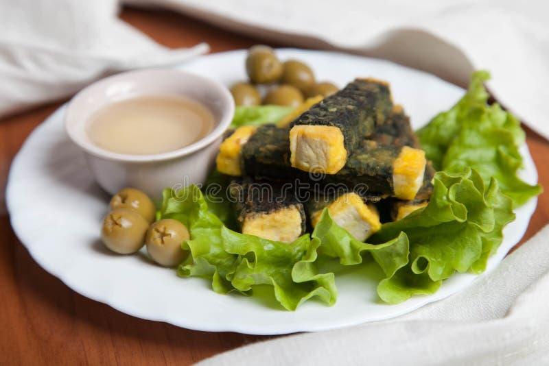 Вегетарианские рыбы стоковое изображение
