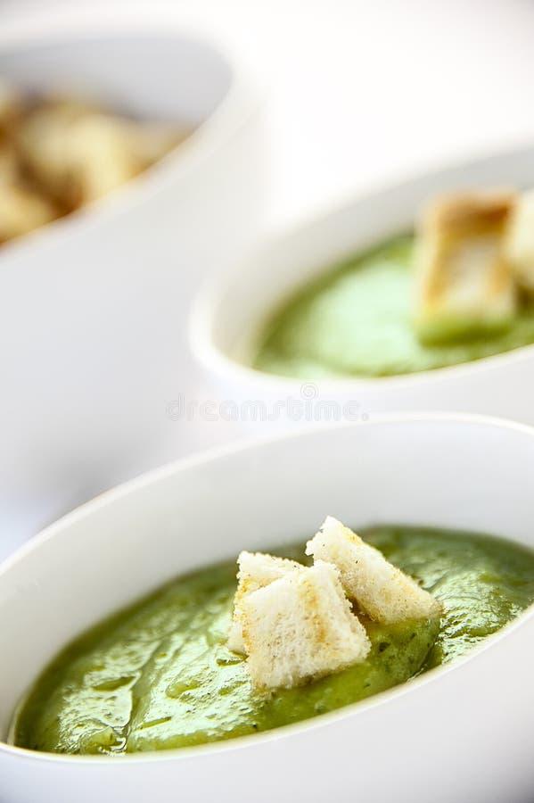 Вегетарианский суп стоковые фото