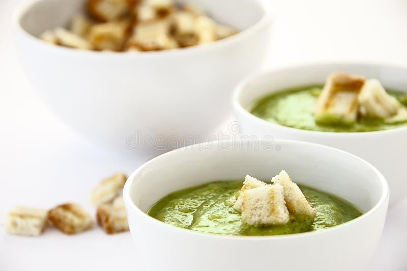 Вегетарианский суп стоковое изображение