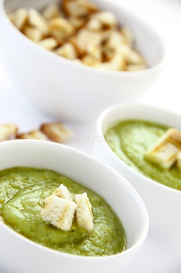 Вегетарианский суп стоковые фотографии rf