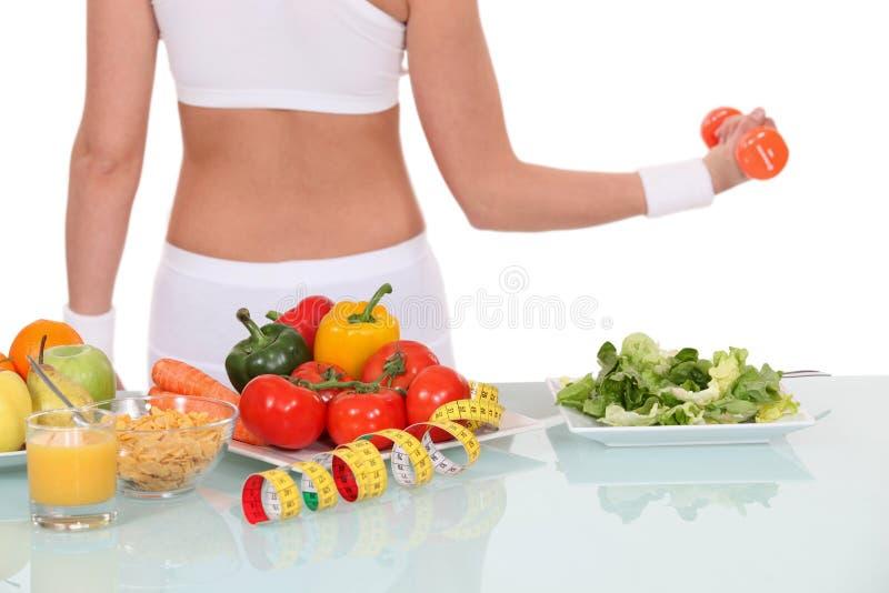 Ведение здорового уклада жизни стоковое изображение rf