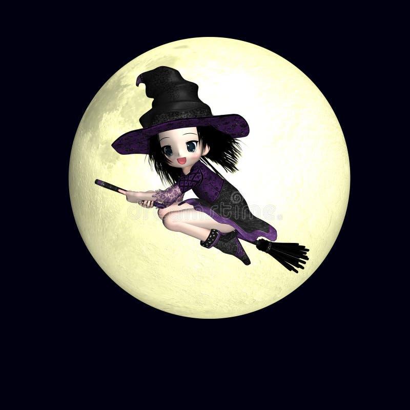 ведьма anime 4 бесплатная иллюстрация