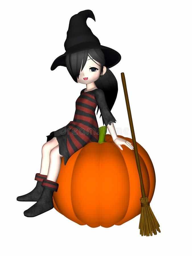 ведьма anime 6 бесплатная иллюстрация