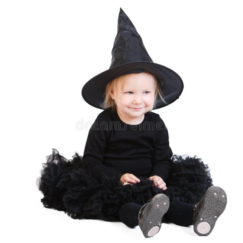 ведьма halloween маленькая стоковая фотография