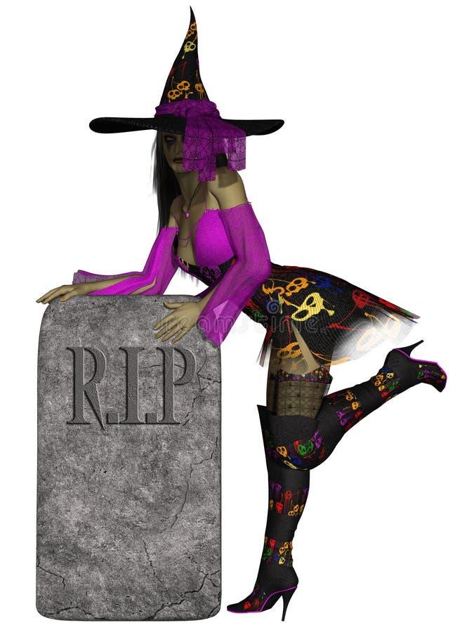 ведьма halloween бесплатная иллюстрация