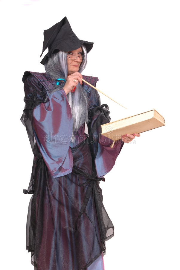 ведьма halloween стоковая фотография