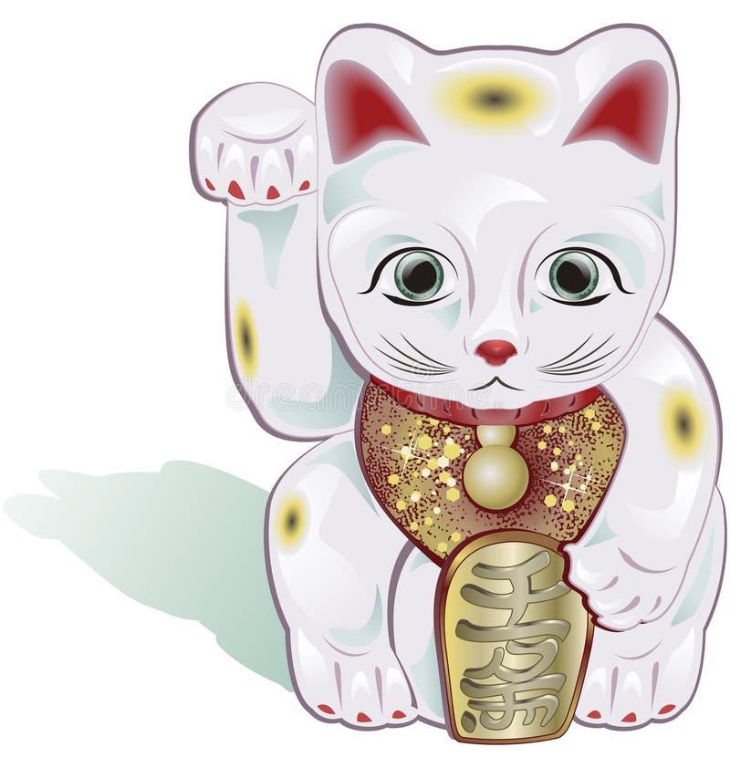 везение кота иллюстрация штока