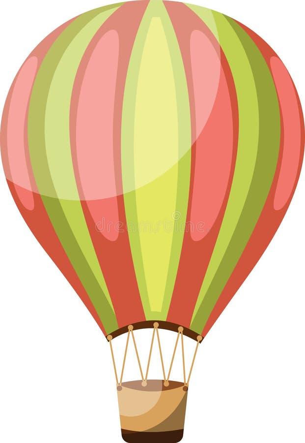Векторная иллюстрация зеленого и розового винтажа иллюстрация штока