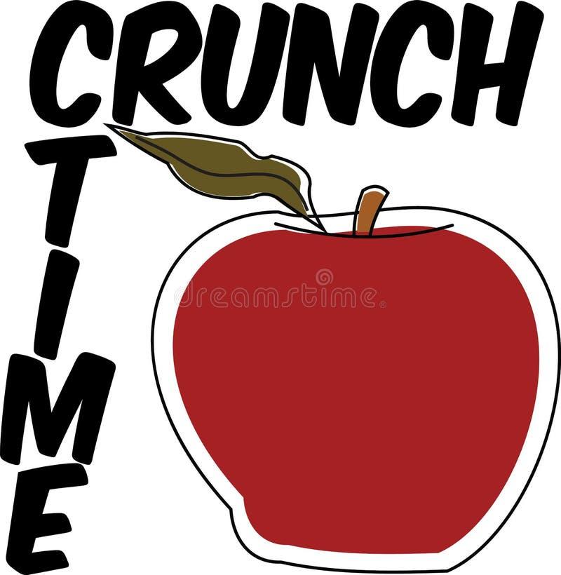 Векторное красное фюитное Apple на плакате с изображением белого здорово бесплатная иллюстрация