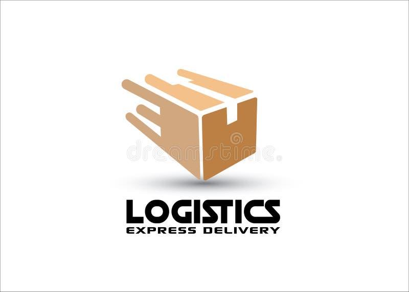 Векторный логотип Fast box иллюстрация штока