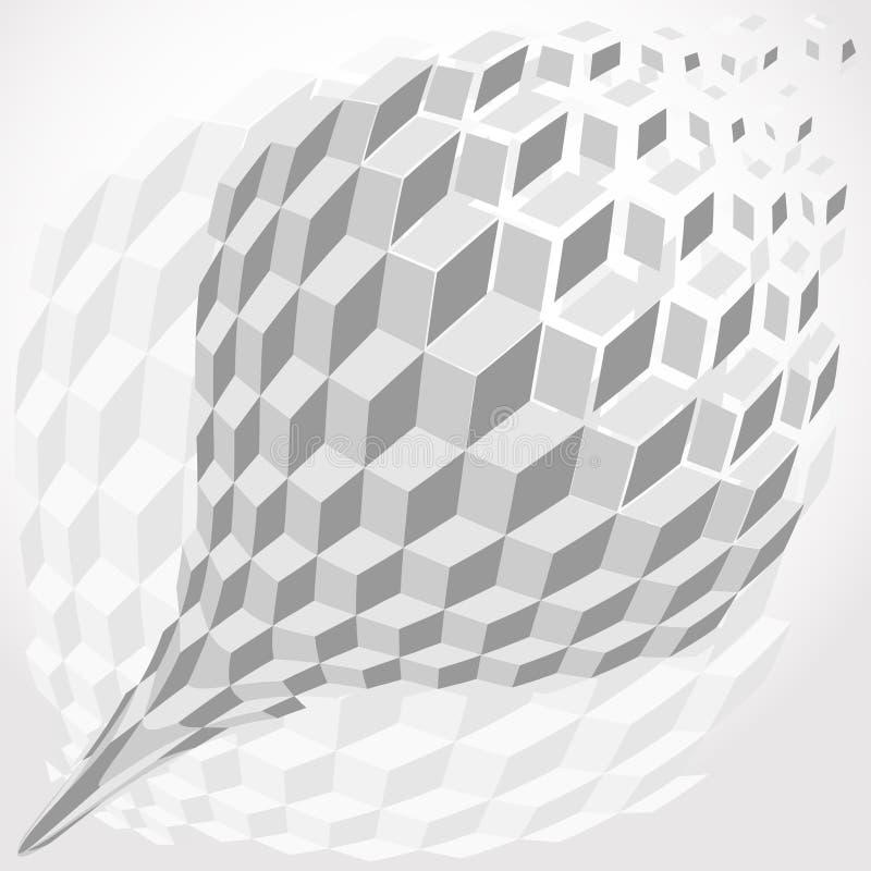 вектор абстрактной предпосылки металлический бесплатная иллюстрация