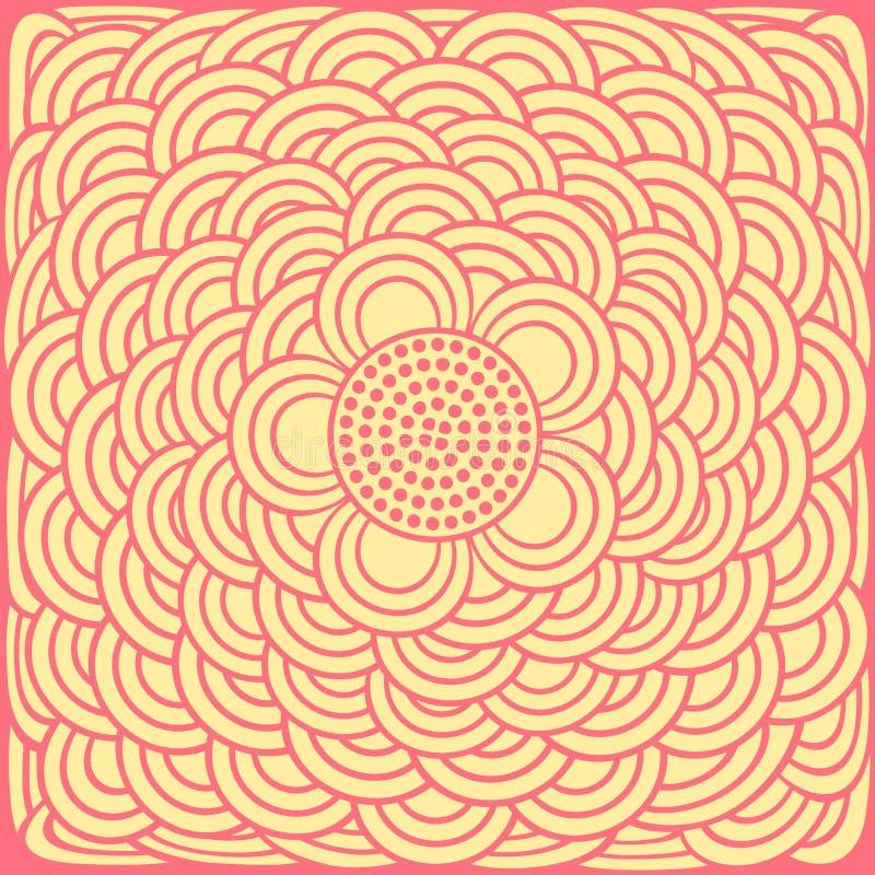 вектор абстрактной предпосылки флористический иллюстрация штока