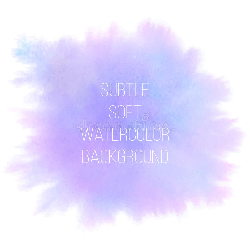 вектор абстрактной предпосылки цветастый Мягко пинк, фиолет и синь бесплатная иллюстрация