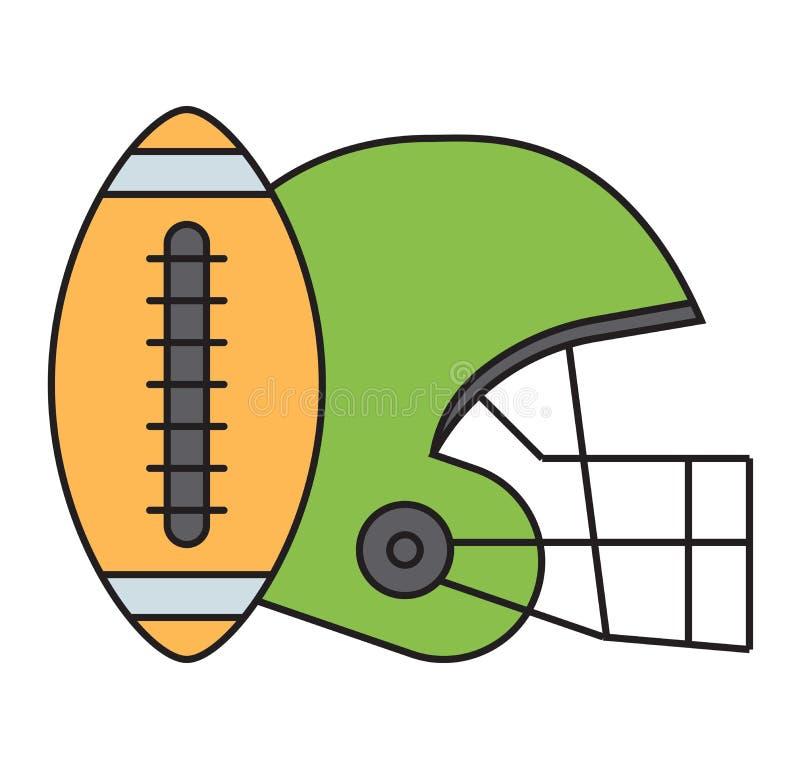 Download вектор американского футбола Иллюстрация вектора - иллюстрации насчитывающей иллюстрация, athens: 81801528