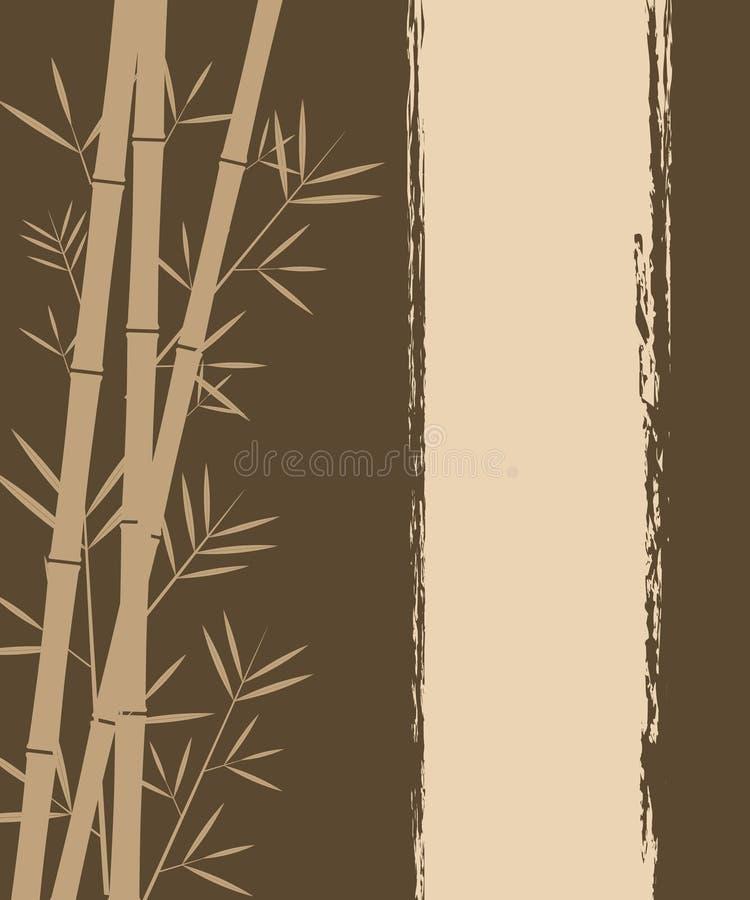 вектор бамбука предпосылки бесплатная иллюстрация