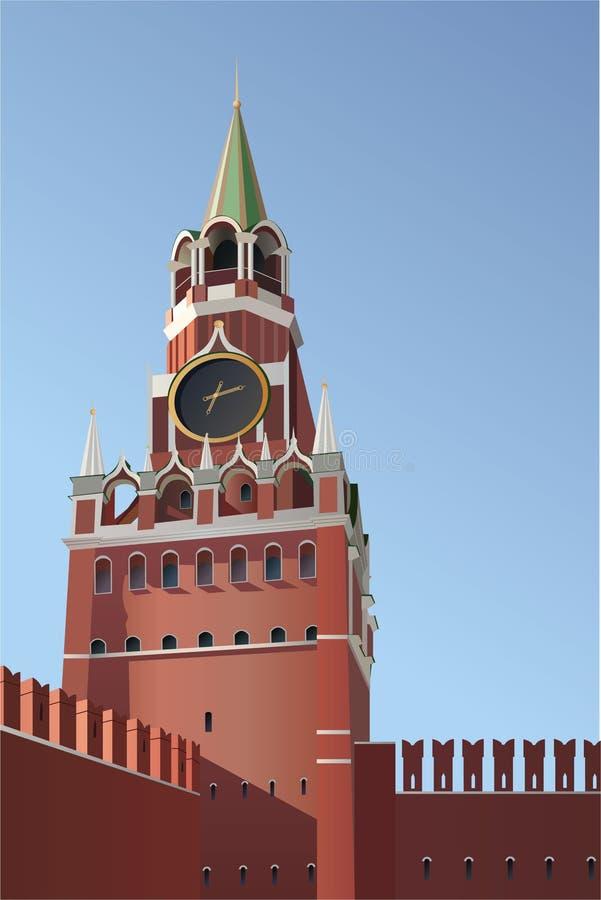 вектор башни kremlin moscow бесплатная иллюстрация