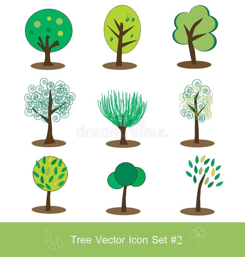 вектор вала иконы установленный иллюстрация вектора