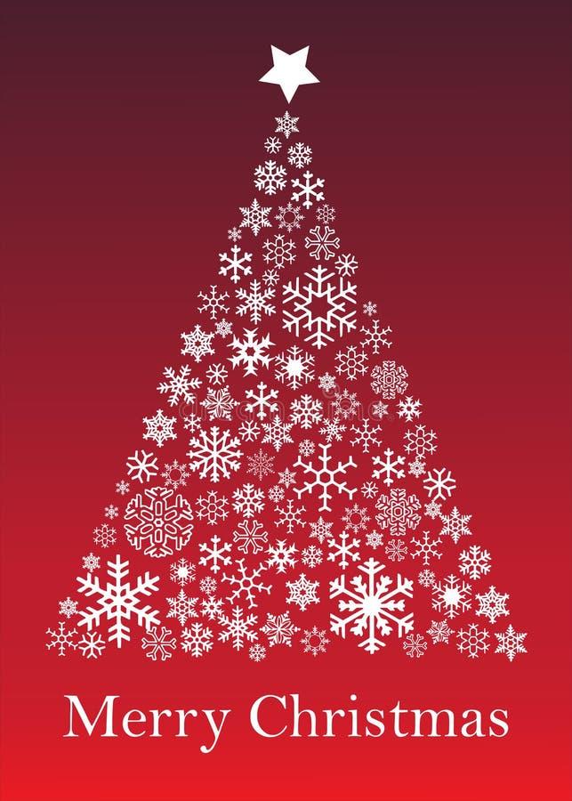 вектор вала иллюстрации приветствию рождества eps10 карточки иллюстрация вектора