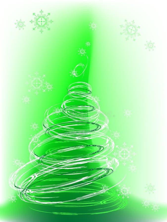 вектор вала снежинок рождества иллюстрация штока