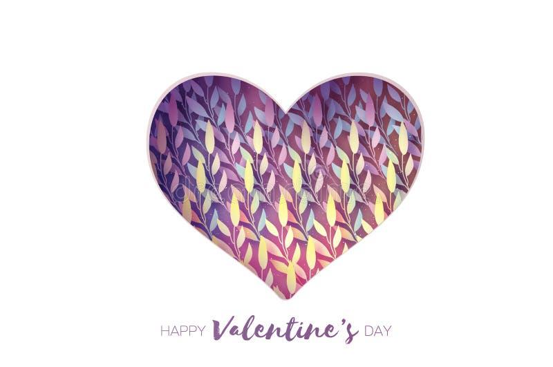 вектор Валентайн формы картины s сердца подарка рамки конструкции дня карточки безшовный Поздравительная открытка дня валентинок  иллюстрация штока