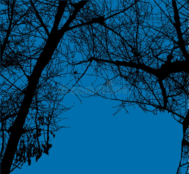 вектор валов голубого неба иллюстрация вектора