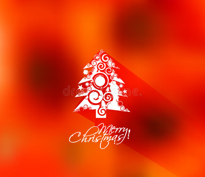 вектор вала иллюстрации рождества предпосылки красивейший бесплатная иллюстрация
