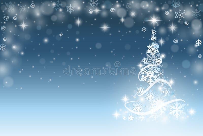 вектор вала иллюстрации рождества предпосылки красивейший иллюстрация штока
