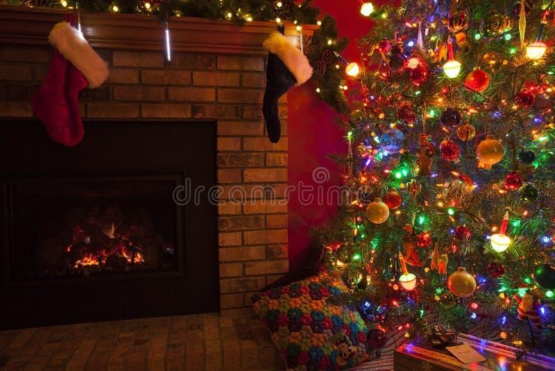 вектор вала иллюстрации формы камина архива пар eps8 рождества шаржа предпосылки ai стоковое фото rf