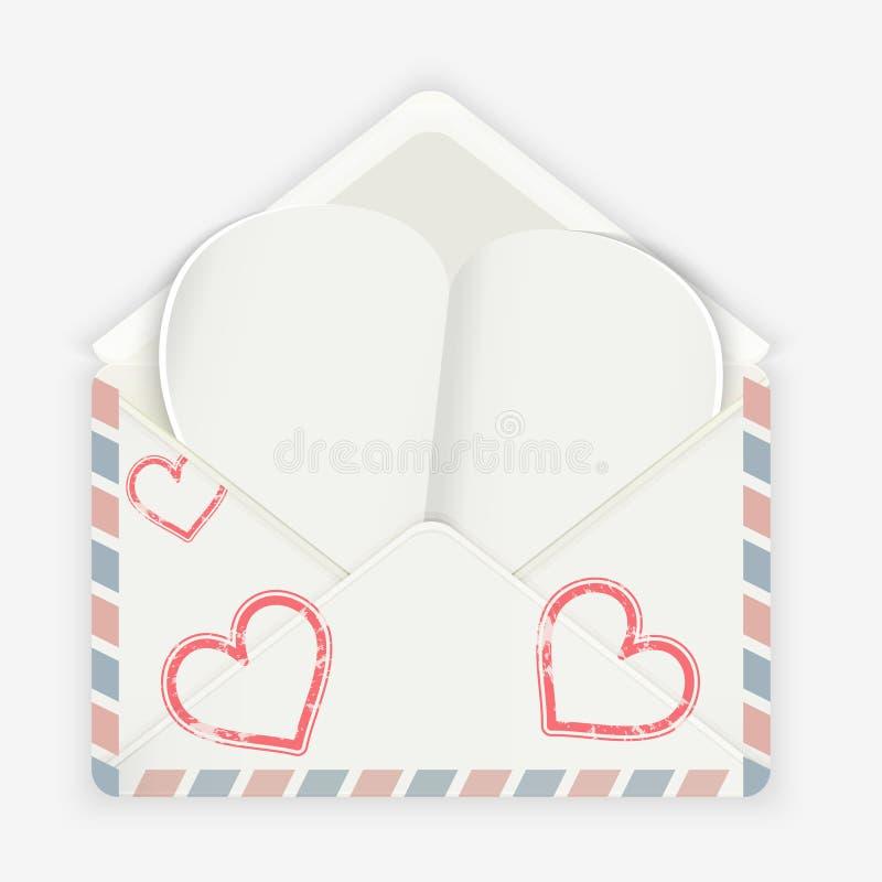 Download вектор Валентайн иллюстрации предпосылки красивейший Реалистический конверт с прикрепленным бумажным сердцем Иллюстрация вектора - иллюстрации насчитывающей поздравления, подарок: 40584354