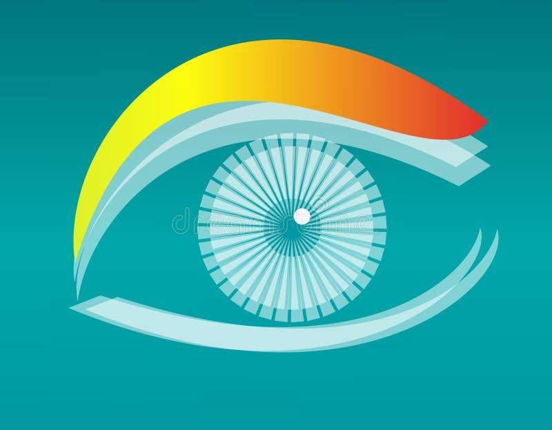 вектор глаза конструкции бесплатная иллюстрация