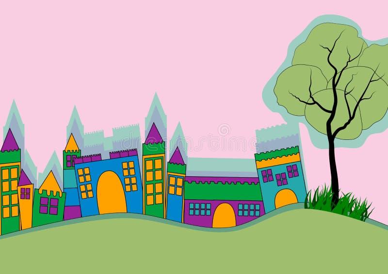 вектор горизонта конструкции города предпосылки ваш бесплатная иллюстрация