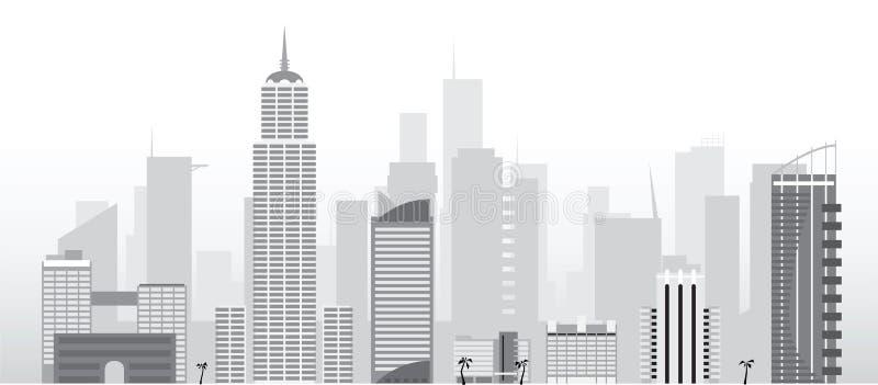 вектор города стоковые фотографии rf