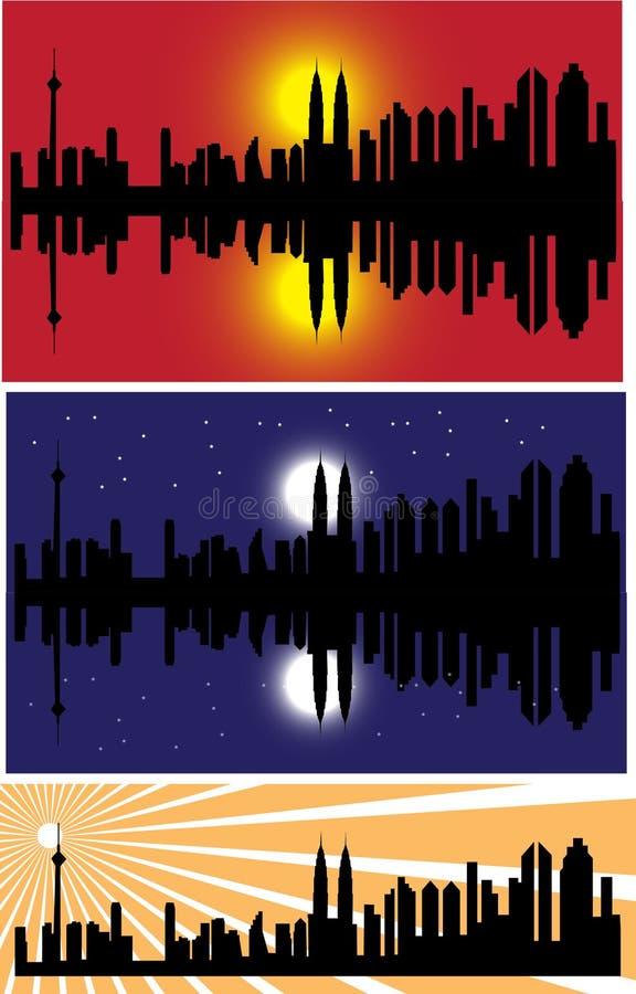 вектор городского пейзажа бесплатная иллюстрация