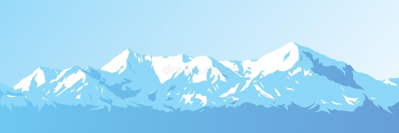 Вектор гор бесплатная иллюстрация