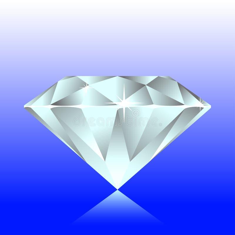 вектор диаманта иллюстрация вектора