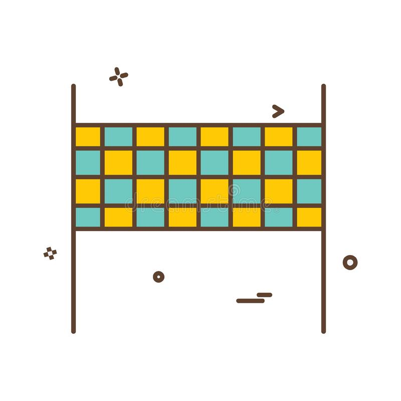 Вектор дизайна значка шарика залпа бесплатная иллюстрация