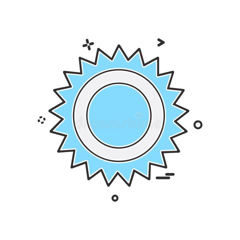 Вектор дизайна значка шестерни бесплатная иллюстрация