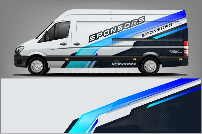 Вектор дизайна обруча этикеты автомобиля Дизайны набора предпосылки графической абстрактной нашивки участвуя в гонке для корабля, иллюстрация вектора