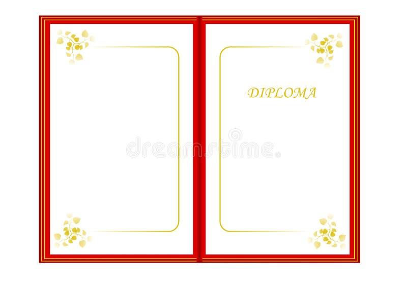 вектор диплома cdr иллюстрация вектора иллюстрации насчитывающей   вектор диплома cdr иллюстрация вектора иллюстрации насчитывающей углы 20491361