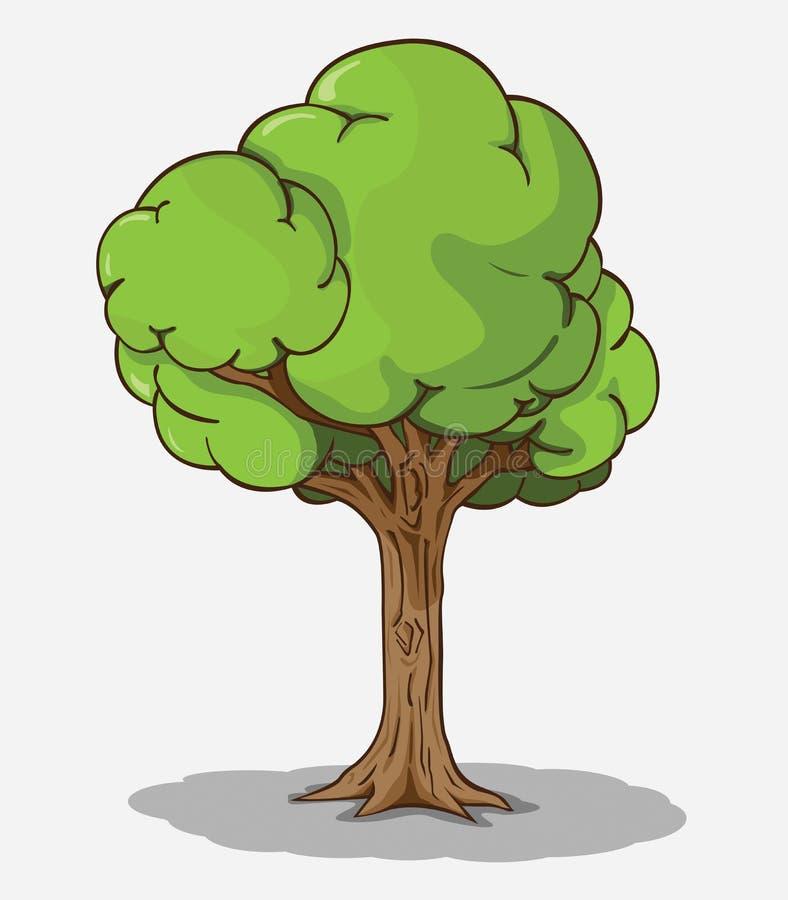 Вектор дерева иллюстрация вектора