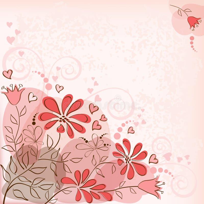 Download вектор детального чертежа предпосылки флористический Красный Иллюстрация вектора - иллюстрации насчитывающей конструкция, рамка: 41661913