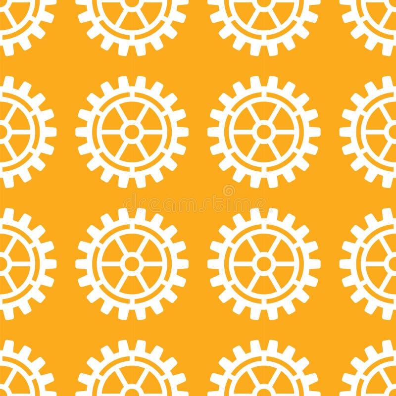 Download Вектор зацепляет картины значков безшовные Иллюстрация вектора - иллюстрации насчитывающей фабрика, механизм: 81802258