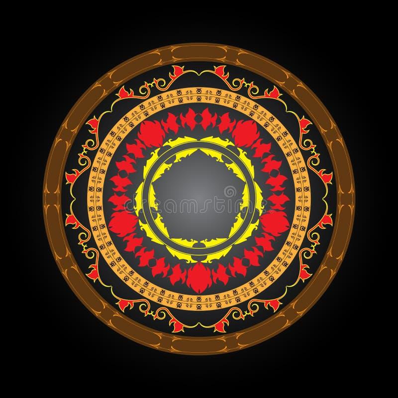 вектор знака круга иллюстрация штока