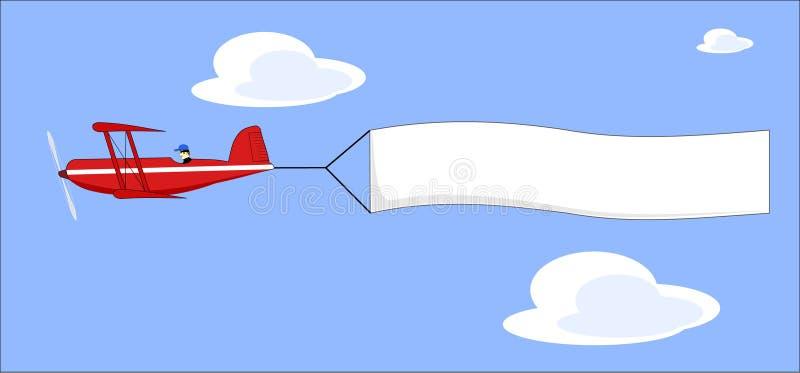 вектор знамени плоский вытягивая иллюстрация штока