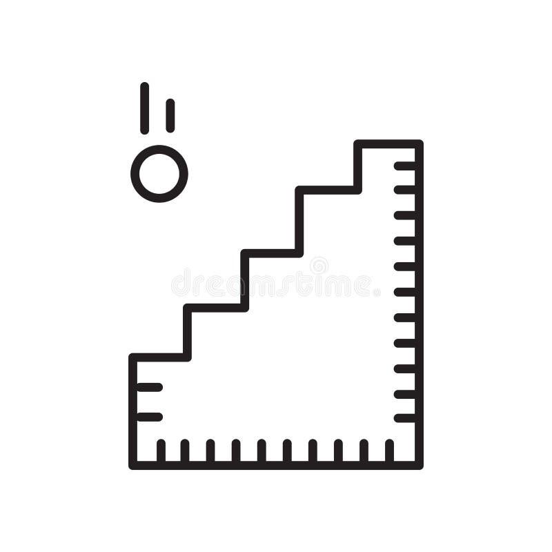 Вектор значка Адвокатуры изолированный на белых предпосылке, знаке Адвокатуры, знаке и символах в тонком линейном стиле плана иллюстрация штока
